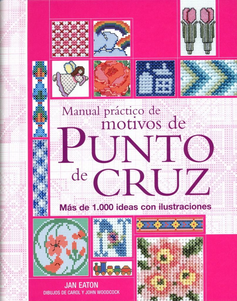 Revistas y manuales punto de cruz